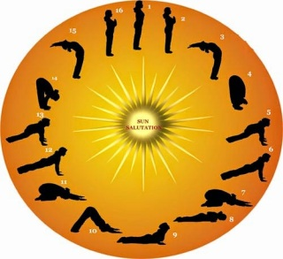 surya namaskar in yoga