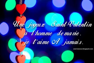 SMS saint valentin 2015